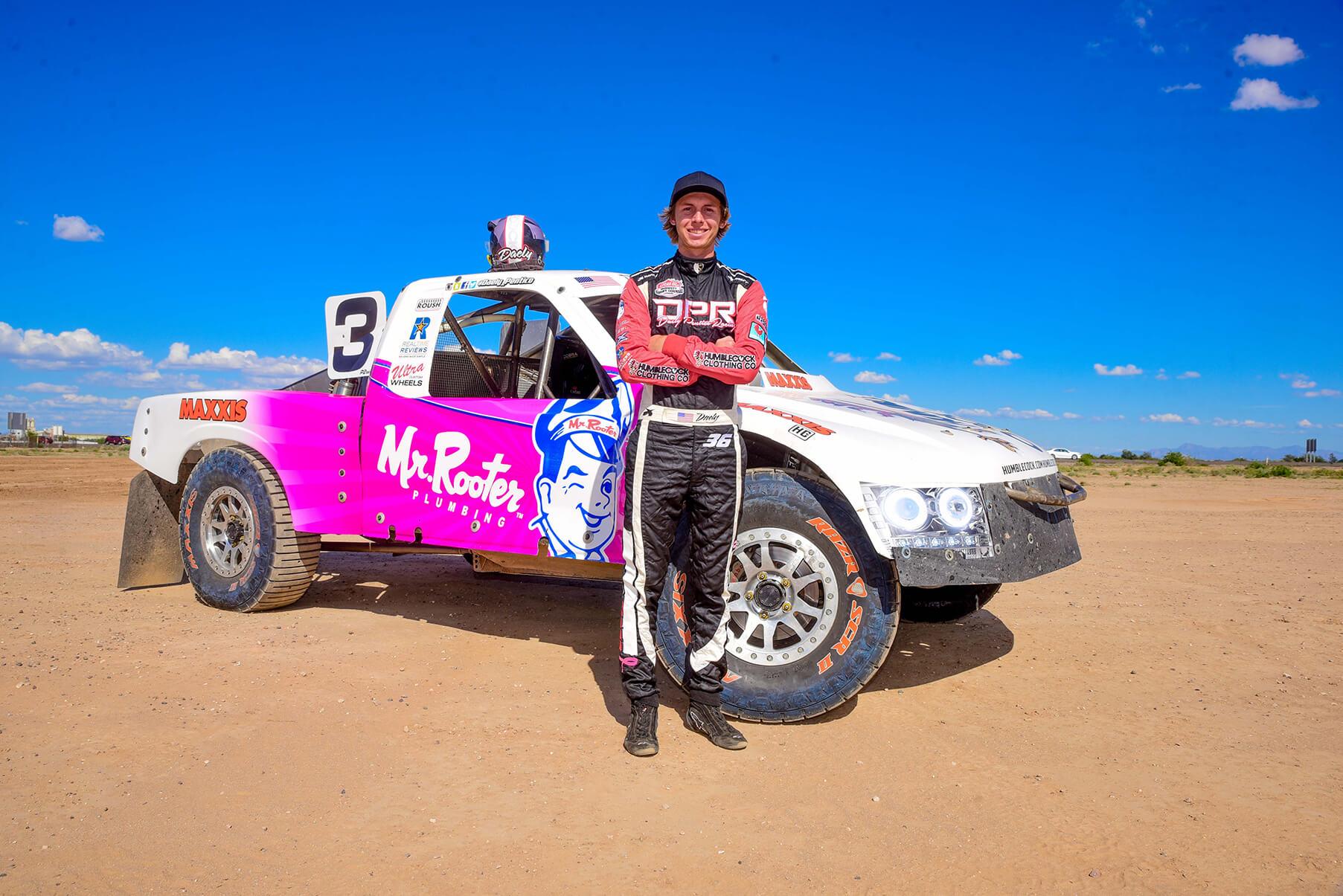 Daely Pentico Racing Posing